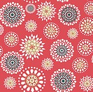 Seamless_with_round_flowers_on_red