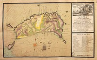 Cartography, Portugal, 18th century. Map of the Island of Madeira.  Lisbon, Museu De Marinha (Navy Museum)