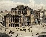 Vienna Opera House, Austria 19th Century.