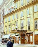 The theatre on the Wien River (theater an der Wien) in Vienna, Austria 20th Century.