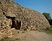 France - Brittany - Gavrinis Island. Megalithic monument, 4th millennium b.C.