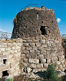 Italy - Sardinia Region - Torralba, province of Sassari - Archaeological complex of Nuraghe Sant'Antine or Sa domo de su Re (the king's house).