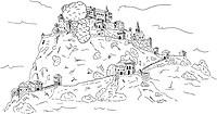 vector _ Hochosterwitz Castle