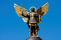 Archangel Michael in Kiev , Ukraine .