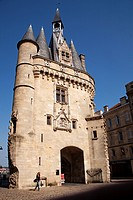 Porte Cailhau at Bordeaux Aquitaine Gironde France.