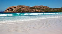 Lucky Bay in Cape Le Grand National Park, near the town of Esperance, Western Australia.