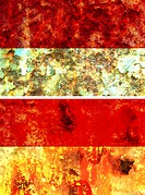 some very old grunge flag of indonesia
