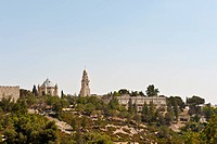 Church Of Dormition And Bell_Tower On Mount Zion