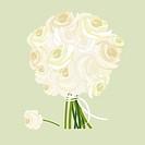 wedding flowers illustration