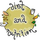 Icon Illustration Representing Diet and Nutrition _ eps8