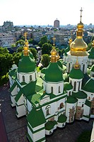 St. Sophia Cathedral Complex, UNESCO World Heritage Site, Kiev, Ukraine, Europe