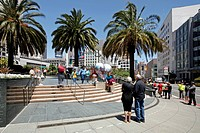 Union Square, Downtown, San Francisco, California, United States of America, North America