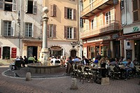 Old Town, Vieil Antibes, Antibes, Cote d´Azur, French Riviera, Provence, France, Europe