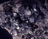 Minerals - Sulphides - Galena.