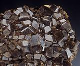 Minerals - silicates - Andrade (Bobrowka, Russia).