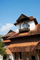 Padmanabhapuram palace, the biggest wooden palace in Asia, Kerala, India, Asia