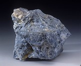 Dumortierite, close_up