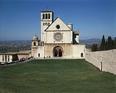 Italy - Umbria Region - Assisi - Superior basilica of St. Francis