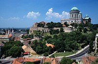 Esztergom Basilica, Esztergom, Komarom_Esztergom, Hungary, Europe