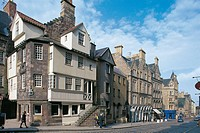 United Kingdom - Scotland - Edinburgh. (UNESCO World Heritage Site, 1995). John Knox's House