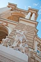 Building of an opera. Exterior opera theatre. Odessa. Ukraine