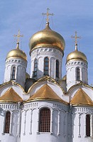 Russia - Moscow. Kremlin (UNESCO World Heritage List, 1990). Cathedral of the Annunciation (Blagoveshchensky Sobor), 1484-1489