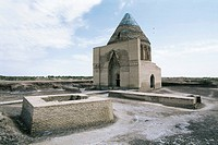 Turkmenistan, Kunya Urgench, Sultan Tekesh Mausoleum