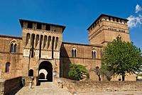 castello visconteo, lombardia, italia