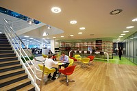 LOCKTON OFFICES, HOK, LONDON, 2010, SEATING AREA,OFFICE, Architect