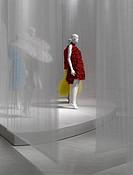 FUTURE BEAUTY EXHIBITION BARBICAN ART GALLERY LONDON SOU FUJIMOTO 2010_DETAIL VIEW,ART EXHIBITION, Architect