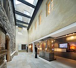 MUSEUM OF THE ORDER OF ST JOHN, METAPHOR, LONDON, 2010, INTERIOR SPACE LINKING OLD AND NEW BUILDINGS, LONDON, UNITED KINGDOM, Architect