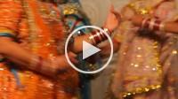 Traditional dance in Bagore_ki Haveli,Udaipur, Rajasthan, india
