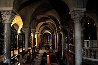 Modena, Italy, cripta in the Cathedral                                                                                                                ...