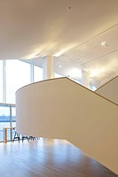 Lantaren Venster, Alvaro Siza/ADP Architecten/Buro M2R, Rotterdam The Netherlands, 2010, Main staircase, ROTTERDAM, NETHERLANDS, Architect