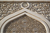 Details, Ornaments, Al Noor Mosque, Corniche Road, Sharjah, United Arab Emirates, UAE, Arabian Peninsula, Middle East, Asia