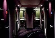 St Alban, celebrity endorsed fine dining restaurant in London _ toilet, LONDON, UNITED KINGDOM, Architect