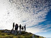 Natural Park Hillocks of Ason. Cantabria. Spain. Europe.