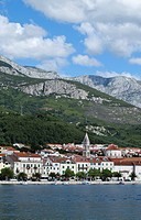 View of Makarska, Dalmatia, Croatia, Europe