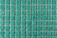 A Green Stone Tiles Background