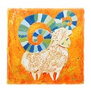Aries, zodiac sign, horoscope, illustration