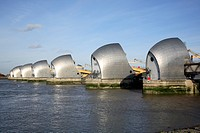 Thames Barrier, Sir Roger Walters, London, 1982, Flood Barrier, SIR ROGER WALTERS, UNITED KINGDOM, Architect