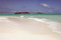 Desert Maldivian island