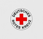 Logo of the Deutsches Rotes Kreuz or German Red Cross