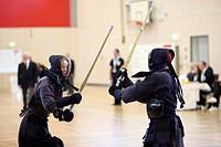 Kendo, German Championship in Koblenz, Rhineland-Palatinate, Germany, Europe