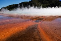 Grand Prismatic Geyser Yellowstone National Park Wyoming USA