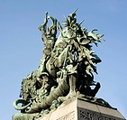 The statue of St. George and the Dragon is a symbol of Stockholm and is found in the Cathedral in Old Town Gamla Stan