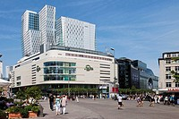 My Zeil shopping mall and Nextower, Frankfurt am Main, Hesse, Germany, Europe