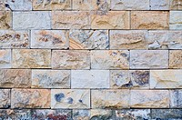 A rock wall textured, good for background, shoot at the outdoor