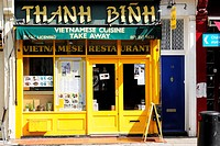 Thanh Binh, Vietnamese take-away restaurant, Camden Town, London, England, United Kingdom, Europe