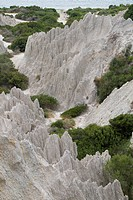 Eroded Clay Formations, Zakynthos Island _ summer holiday destination in Greece